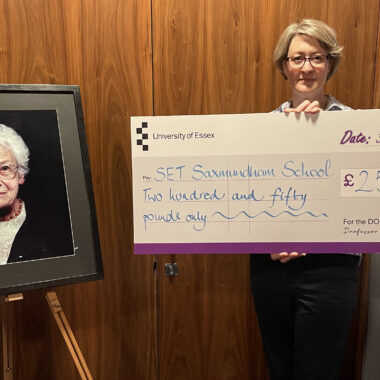 SET Saxmundham School awarded Dora Love Prize 2021