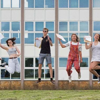 SET Saxmundham students celebrate 2021 GCSE results